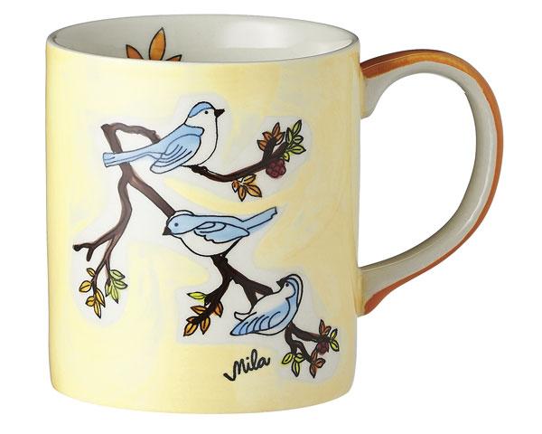 Becher - Vögel