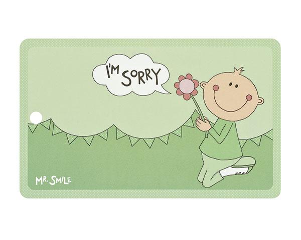 Frühstücksbrettchen - Mr. Smile I'm Sorry
