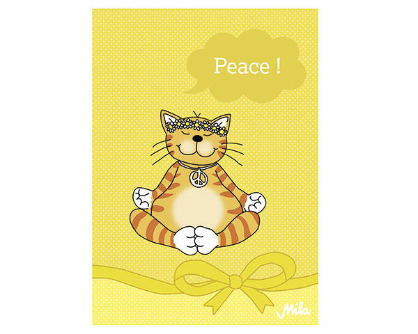 Postkarte - Oommh... Peace