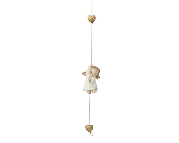 Resin Figur - Schutzengel Mila, kletternd