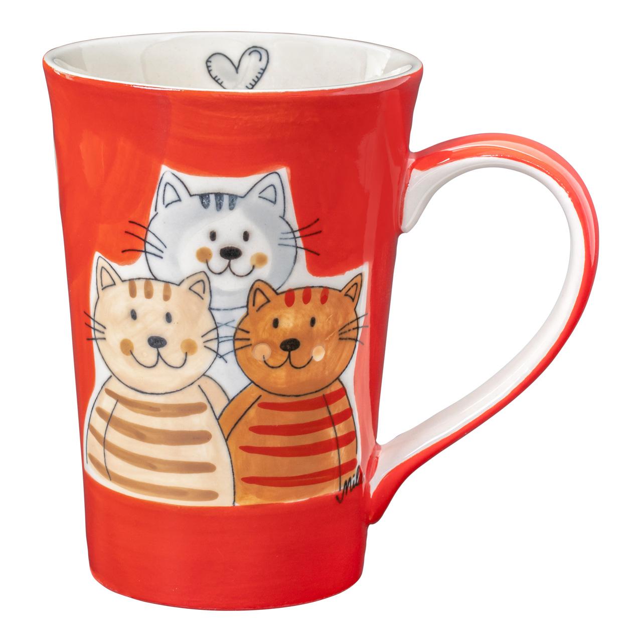 Teebecher - Cuddly Cats