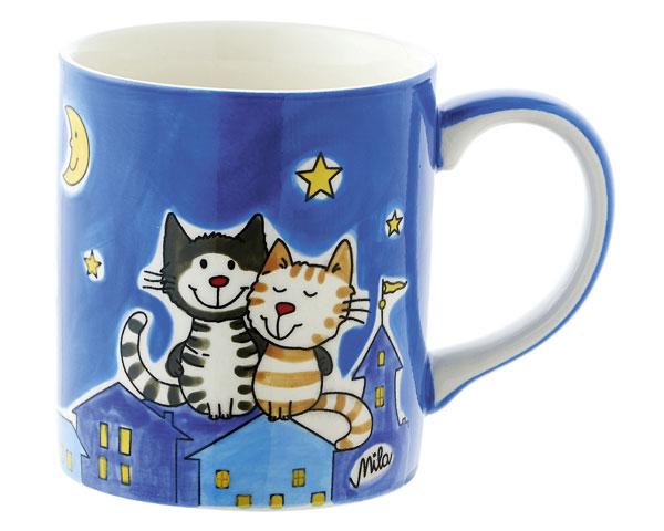 Becher - Nachtkatzen