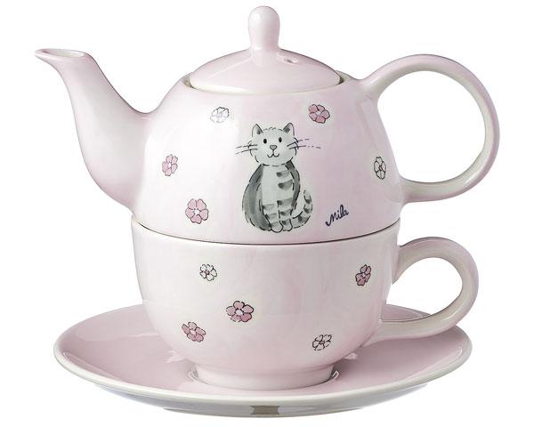 Tea for one - Katze Mia