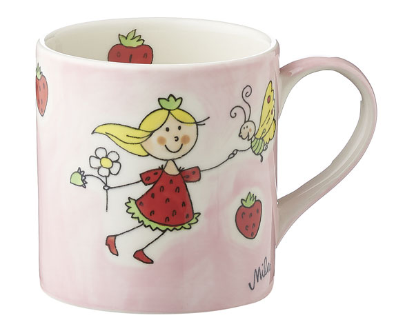 Kinderbecher - Erdbeerfee