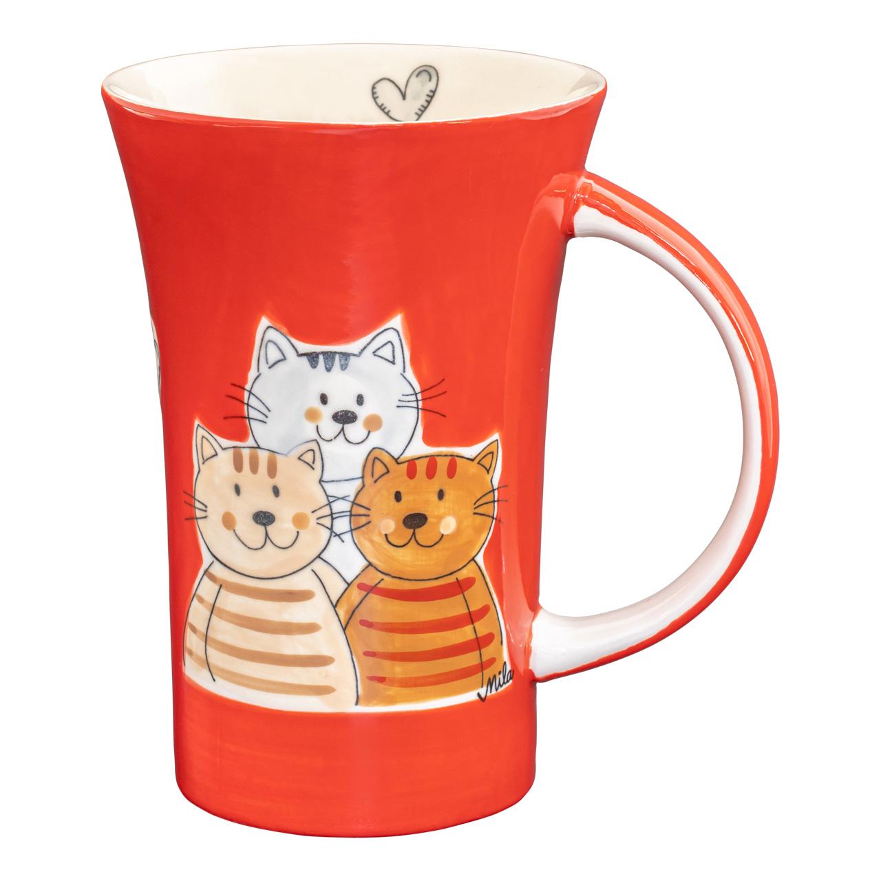 Coffee Pot  - Cuddly cats