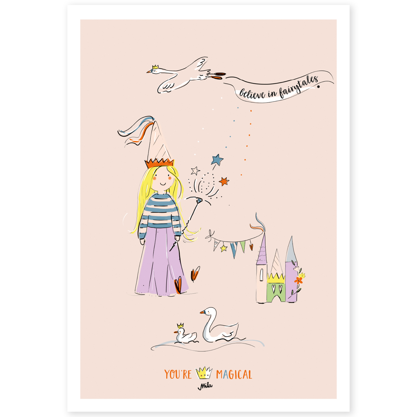 Poster groß - Prinzessin - Magical Times