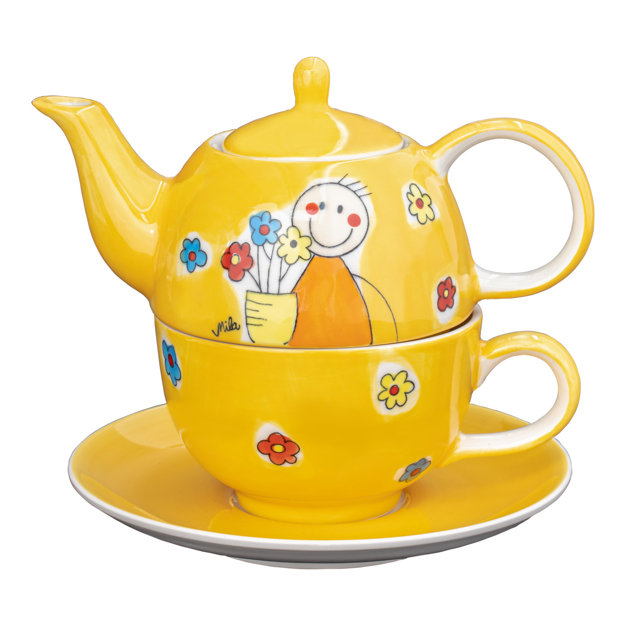 Tea for one - Flowerboy