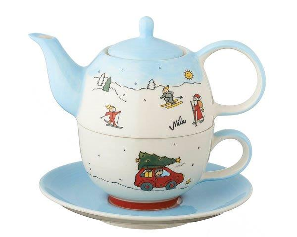 Tea for one - Driving home for Christmas