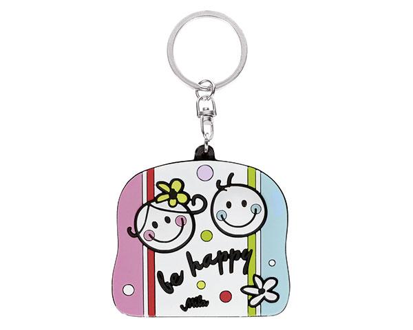 Schlüsselanhänger - Be Happy