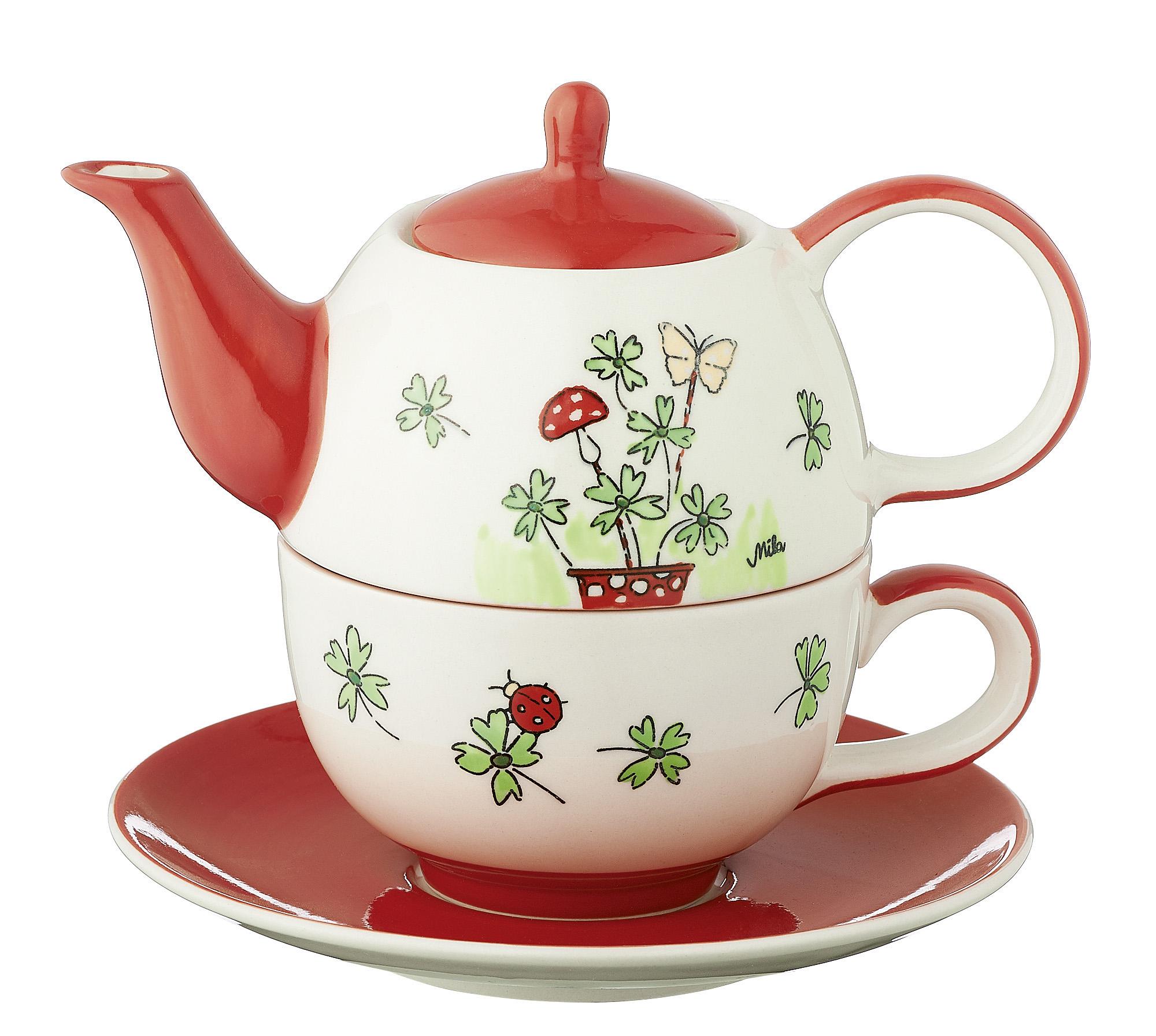 Tea for one - Viel Glück