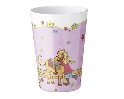 Melamin Becher - Mein Pony