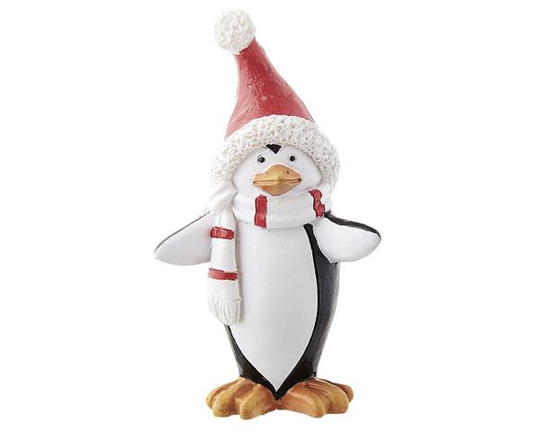 Resin Figur - Pinguin, stehend