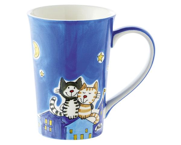 Teebecher - Nachtkatzen