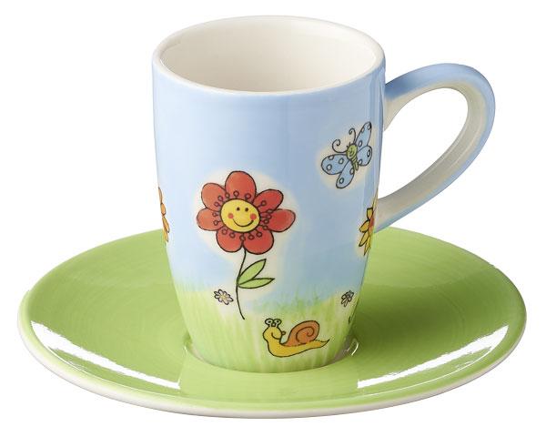 Espresso Tasse - Sonnenblumen
