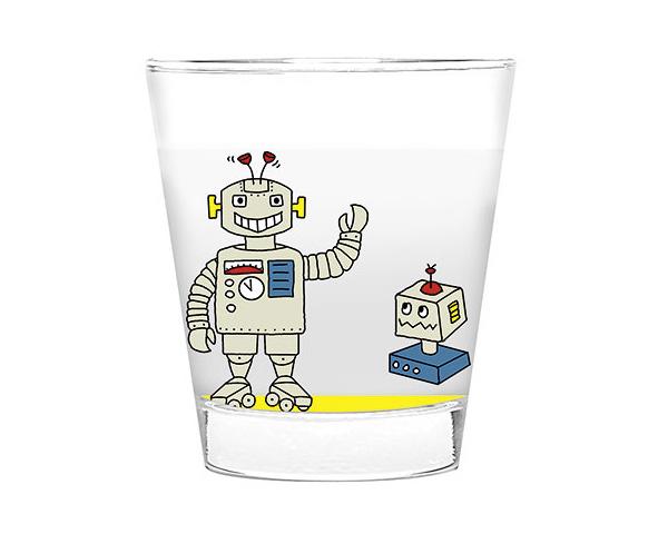 Glas klein - Roboter