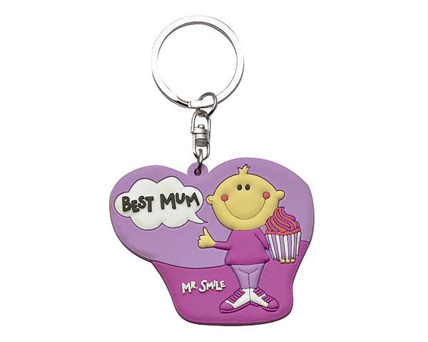 Schlüsselanhänger - Mr. Smile Best Mum