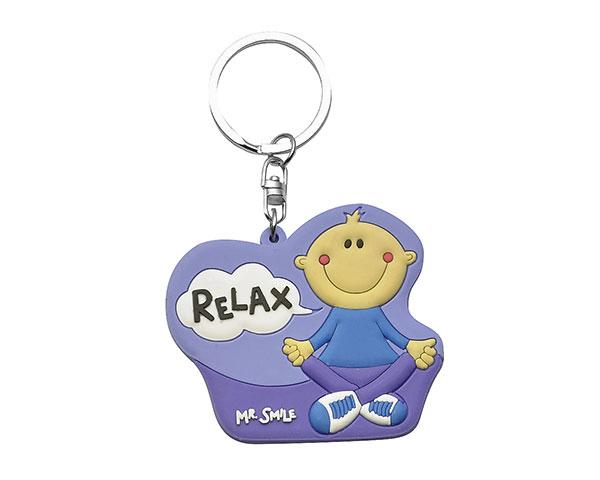 Schlüsselanhänger - Mr. Smile Relax