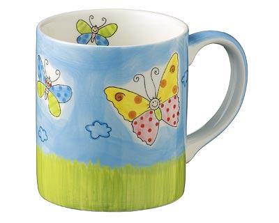 Becher - Lovely  Butterflies
