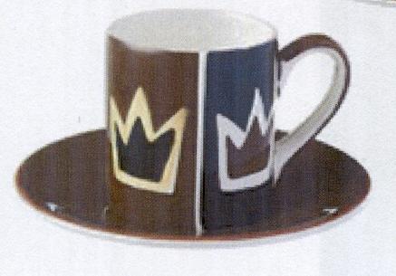 Espresso Tasse - Krone