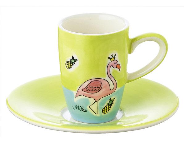 Espresso Tasse - Flamingo