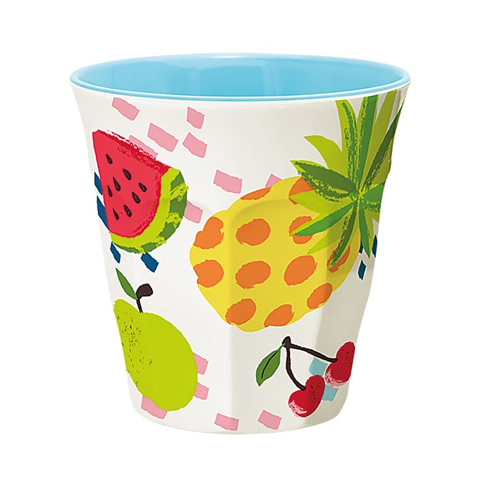 Ginger Melamin Becher - Fruits