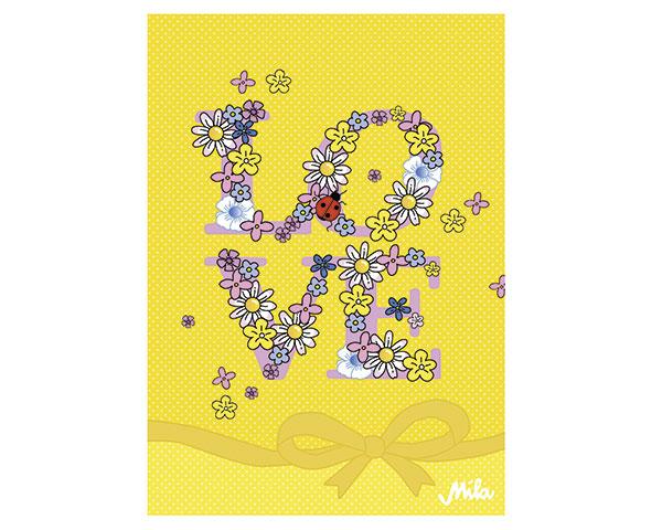 Postkarte - Love