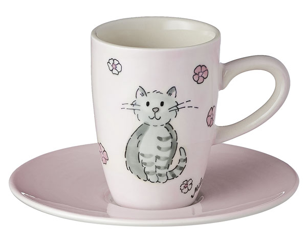 Espresso Tasse - Katze Mia