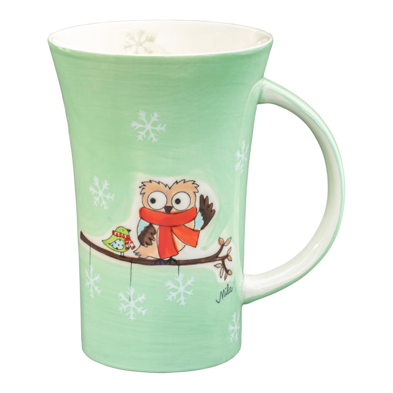 Coffee Pot - Hello Winter