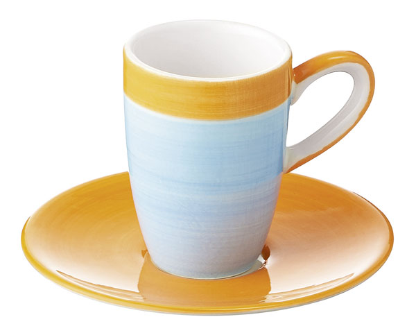 Espresso Tasse - United colours of Mila, blau
