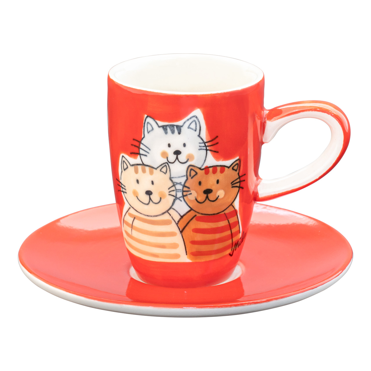 Epresso Tasse - Cuddly Cats