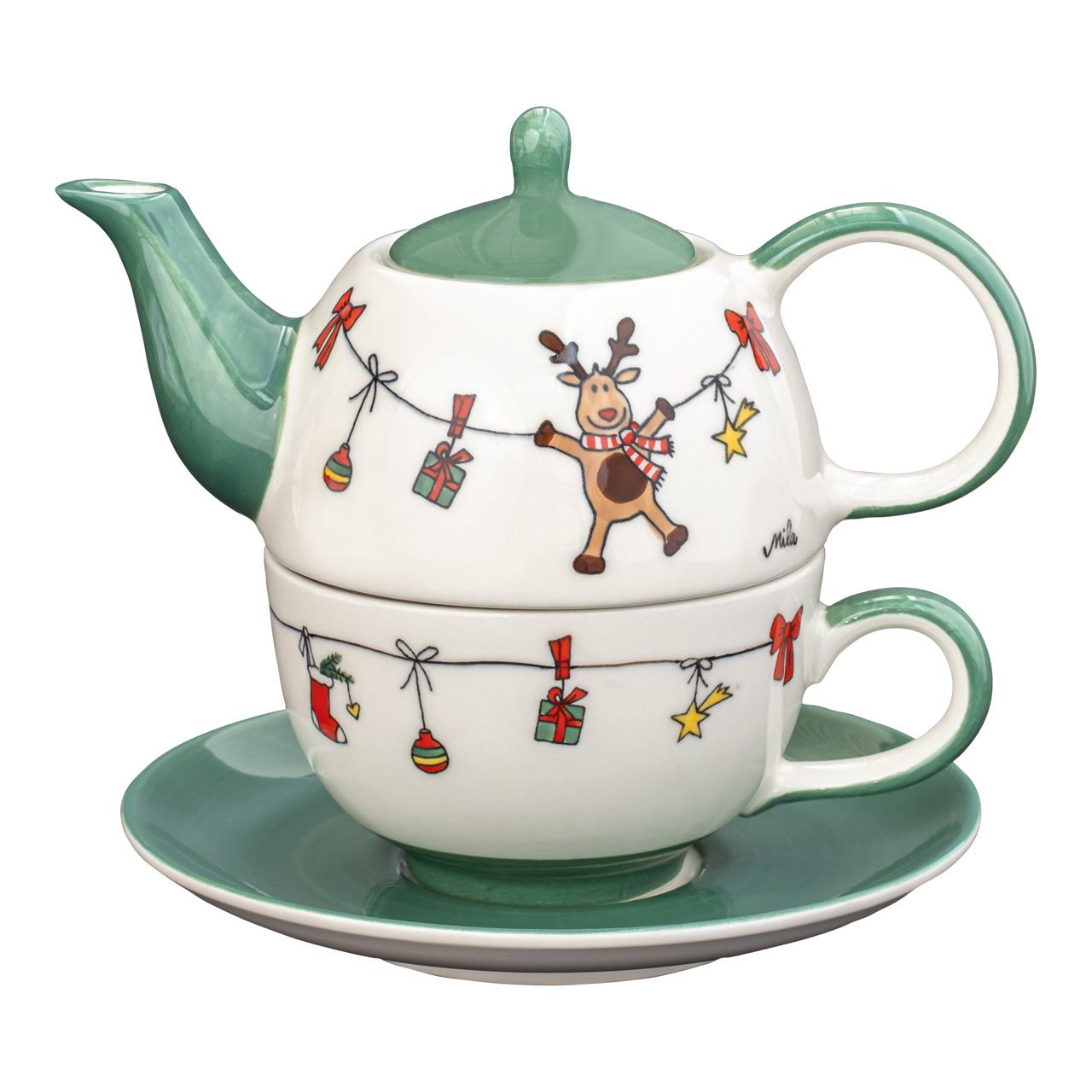Tea for one - Holly Jolly