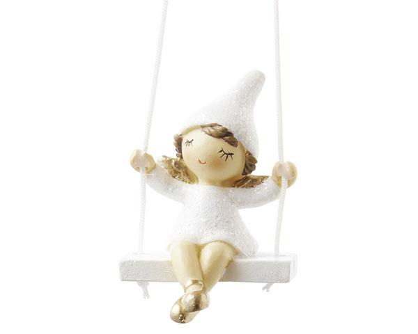 Resin Figur - Kleine Engelfee, hängend