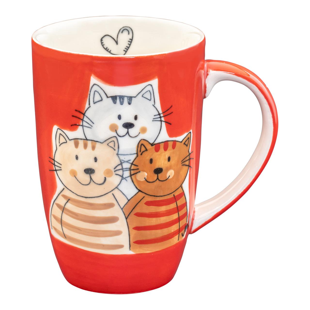 Designbecher - Cuddly Cats