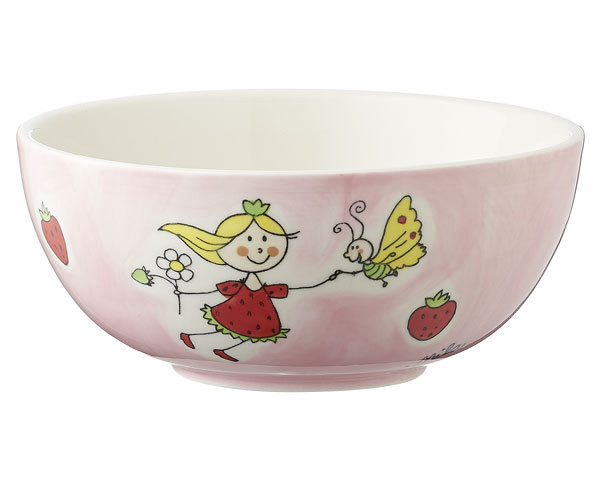 Kinderschale - Erdbeerfee