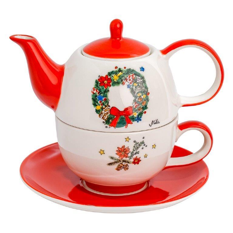 Tea for one - Weihnachtskranz