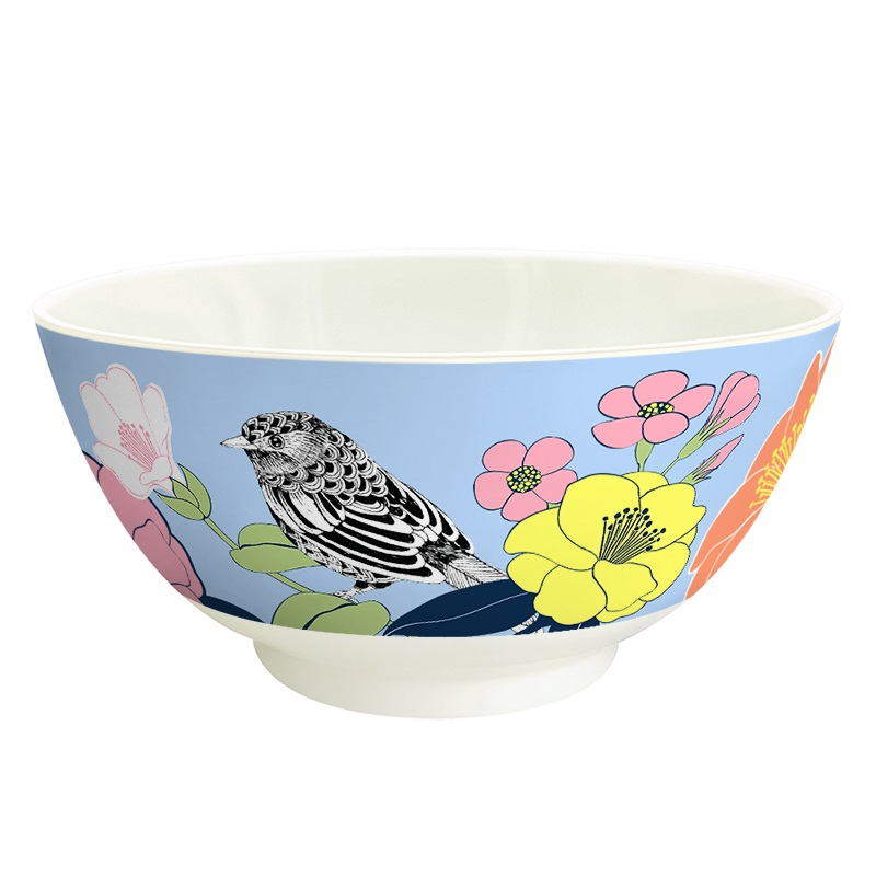 Ginger Melamin Schale - Flowerbird