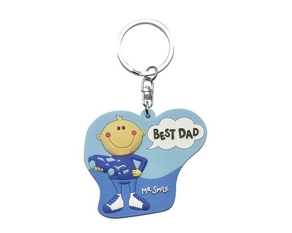 Schlüsselanhänger - Mr. Smile Best Dad
