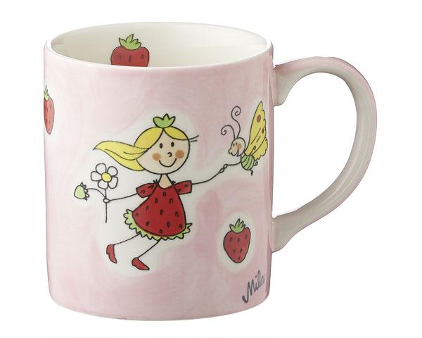 Becher - Erdbeerfee