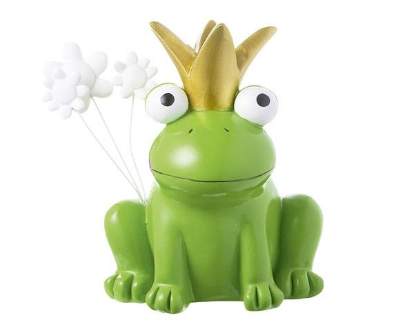 Figur - Froschkönig grün