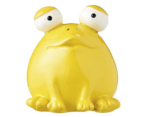 Figur - Frosch Quak, gelb