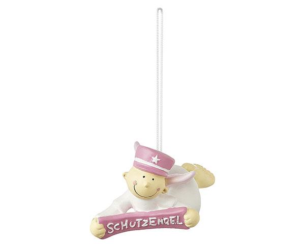 Figur - Schutzengel Fridolin pink