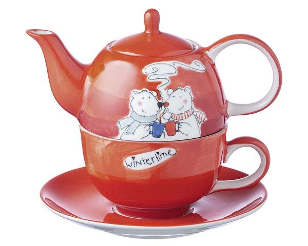 Tea for one - Bruno der Bär