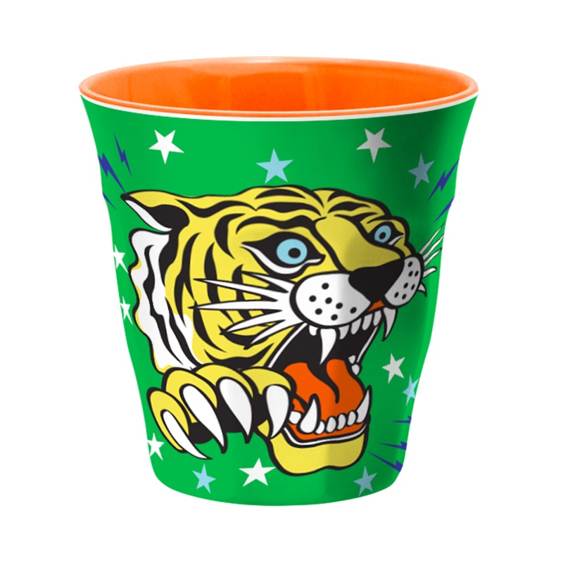 Ginger Melamin Becher - Tiger