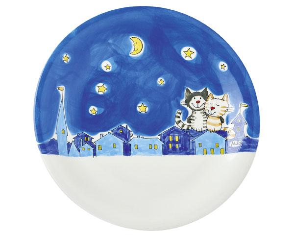 Teller - Nachtkatzen