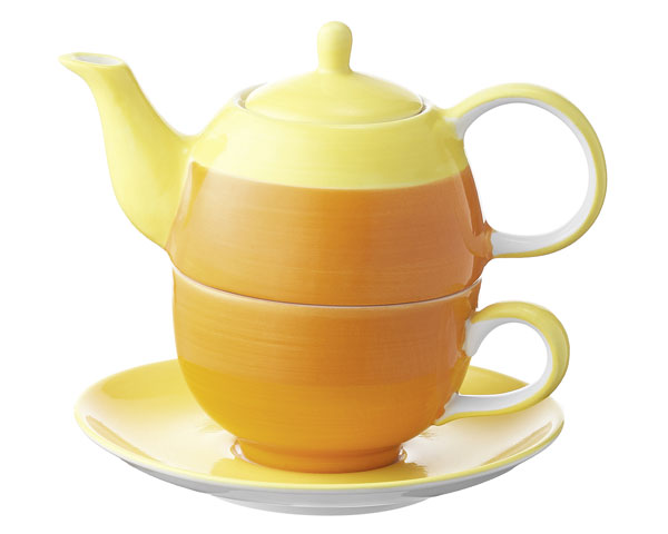 Tea for one - United colours of Mila, orange