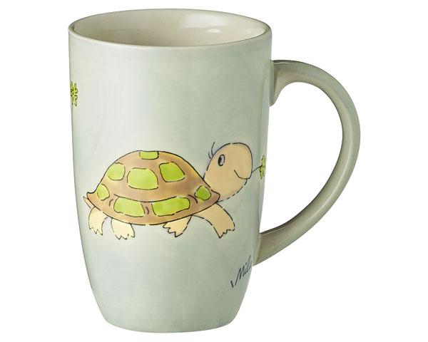 Designbecher - Schildkröte