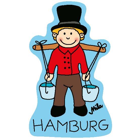 Magnet - Hamburg Wasserträger