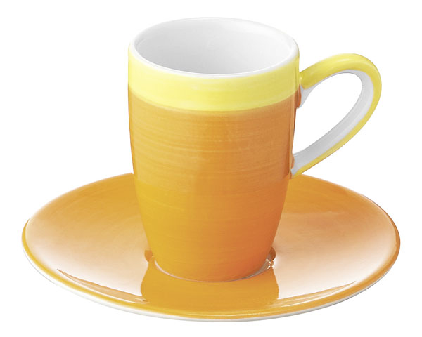Espresso Tasse - united colours of Mila, orange