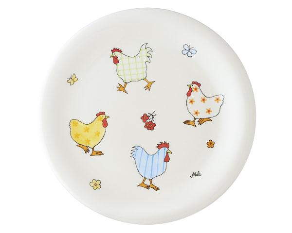 Teller - Hühner