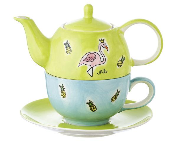 Tea for one - Flamingo